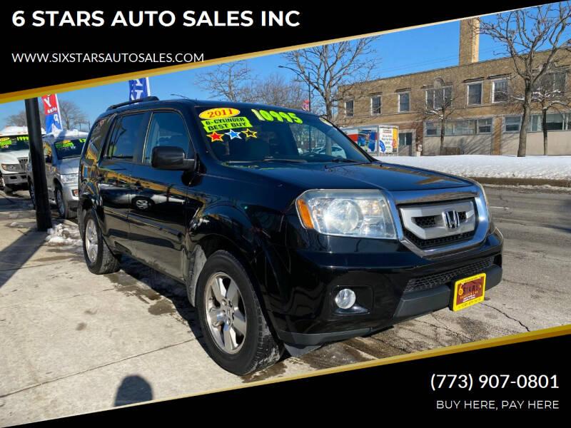 2011 Honda Pilot for sale at 6 STARS AUTO SALES INC in Chicago IL