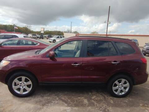 2008 Hyundai Santa Fe for sale at BIG 7 USED CARS INC in League City TX