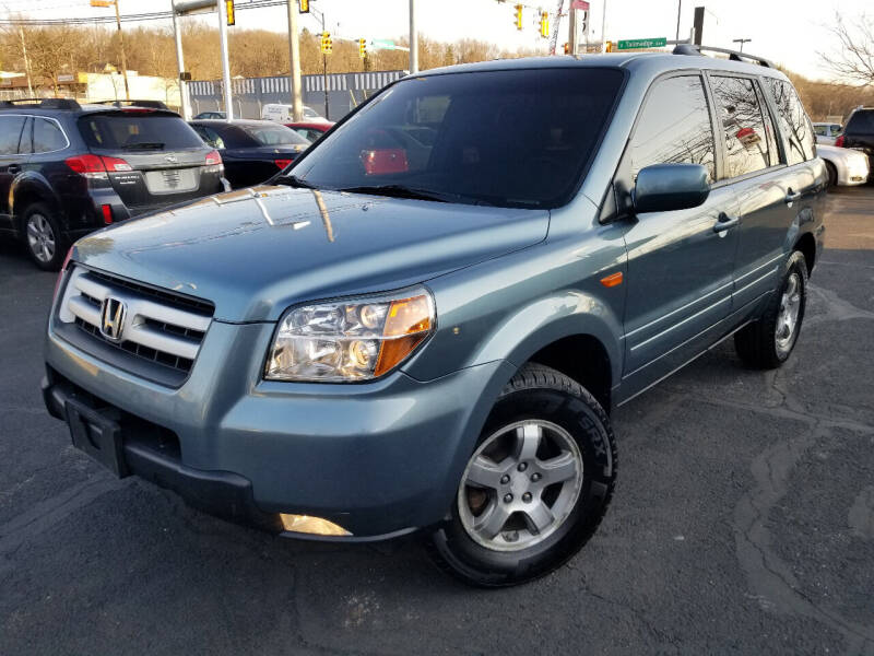 2006 Honda Pilot for sale at Cedar Auto Group LLC in Akron OH