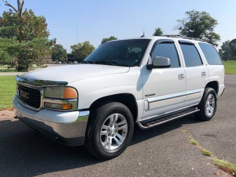 2002 GMC Yukon for sale at COUNTRYSIDE AUTO SALES 2 in Russellville KY