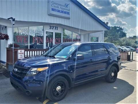 2014 Ford Explorer for sale at North Oakland Motors in Waterford MI