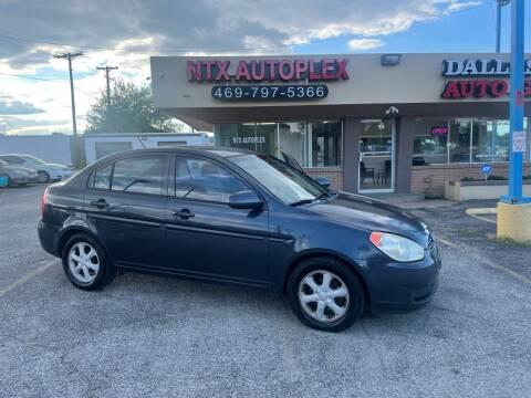 2008 Hyundai Accent for sale at NTX Autoplex in Garland TX