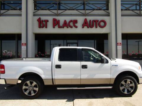 2006 Ford F-150 for sale at First Place Auto Ctr Inc in Watauga TX