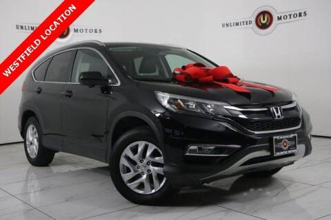 2016 Honda CR-V for sale at INDY'S UNLIMITED MOTORS - UNLIMITED MOTORS in Westfield IN