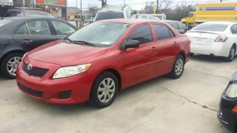 2009 Toyota Corolla for sale at Dubik Motor Company in San Antonio TX