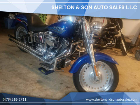 2007 Harley-Davidson fat boy for sale at Shelton & Son Auto Sales L.L.C in Dover AR