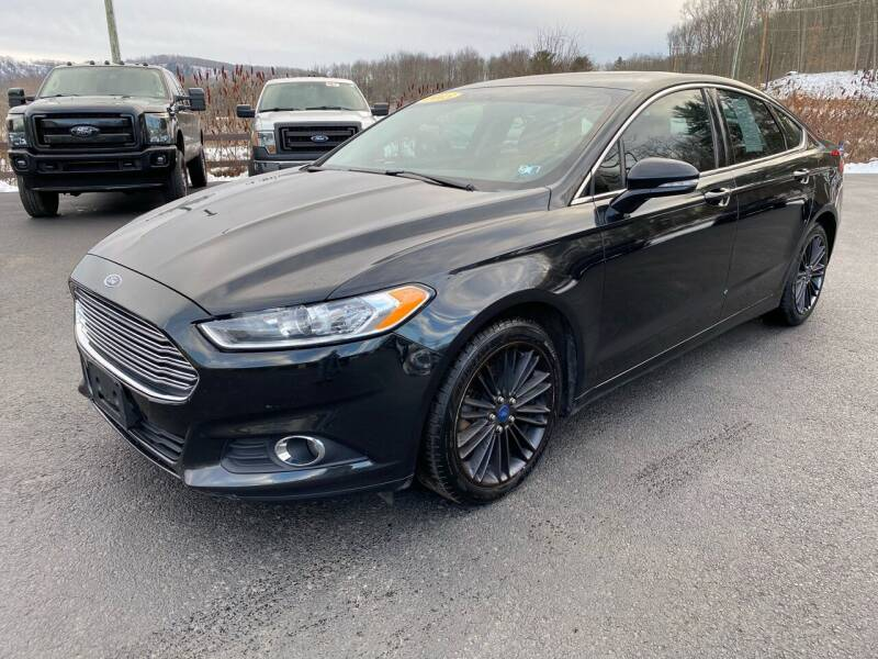 2013 Ford Fusion for sale at Pine Grove Auto Sales LLC in Russell PA