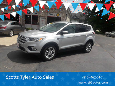 2018 Ford Escape for sale at Scotts Tyler Auto Sales in Wilmington IL