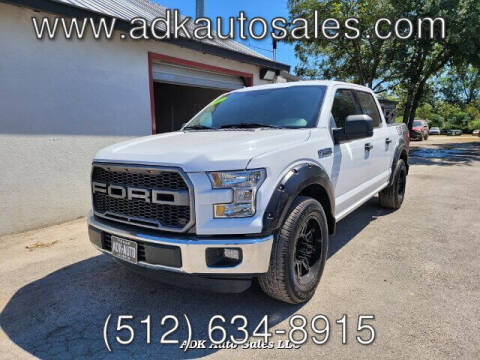 2016 Ford F-150 for sale at ADK AUTO SALES LLC in Austin TX