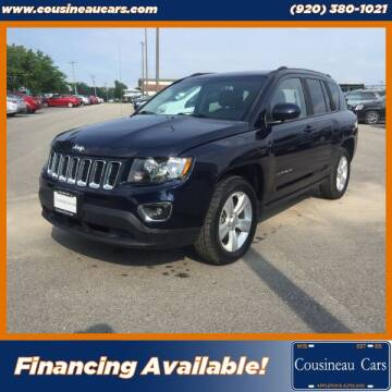 2014 Jeep Compass for sale at CousineauCars.com in Appleton WI