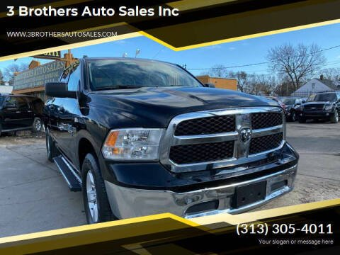 2019 RAM Ram Pickup 1500 Classic for sale at 3 Brothers Auto Sales Inc in Detroit MI
