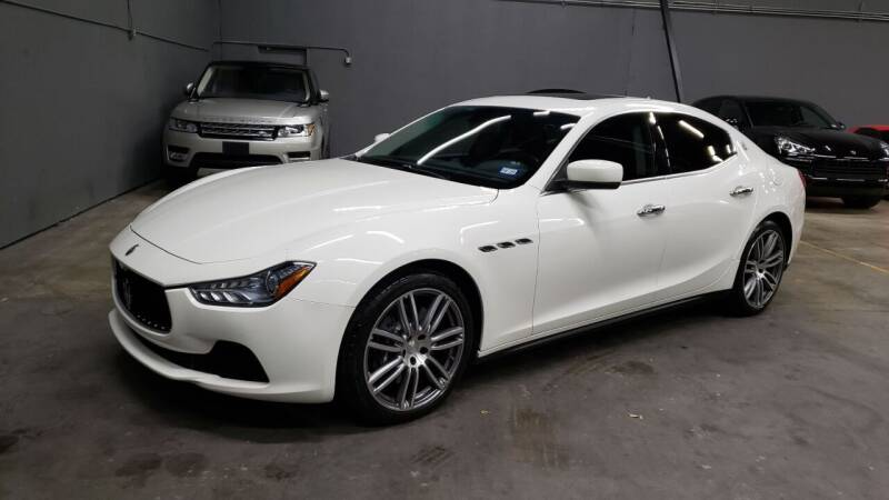 2015 Maserati Ghibli for sale at EA Motorgroup in Austin TX