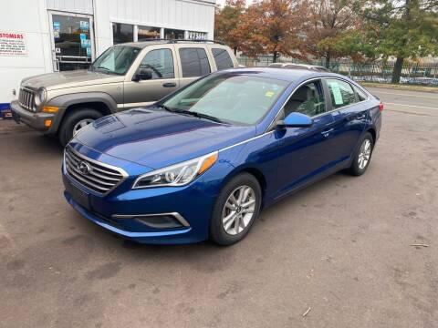 2016 Hyundai Sonata for sale at Vuolo Auto Sales in North Haven CT