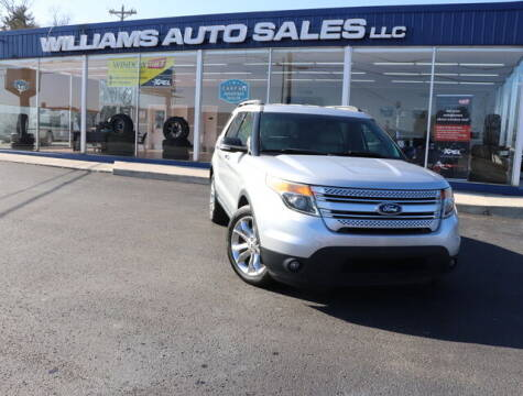 2014 Ford Explorer for sale at Williams Auto Sales, LLC in Cookeville TN