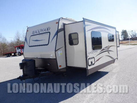 2015 Forest River Rockwood Ultra Lite - 2608 WS for sale at London Auto Sales LLC in London KY
