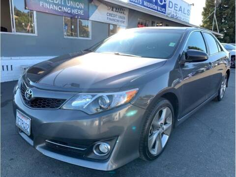 2014 Toyota Camry for sale at AutoDeals in Hayward CA