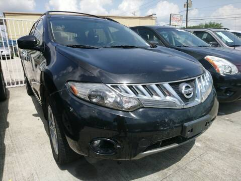 2009 Nissan Murano for sale at TEXAS MOTOR CARS in Houston TX
