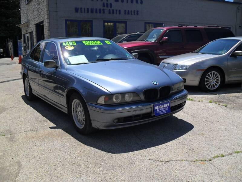 2002 BMW 5 Series for sale at Weigman's Auto Sales in Milwaukee WI