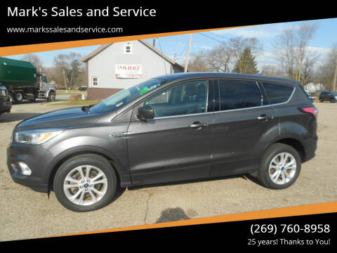 2017 Ford Escape for sale at Mark's Sales and Service in Schoolcraft MI