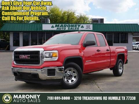 2015 GMC Sierra 1500 for sale at Maroney Auto Sales in Humble TX