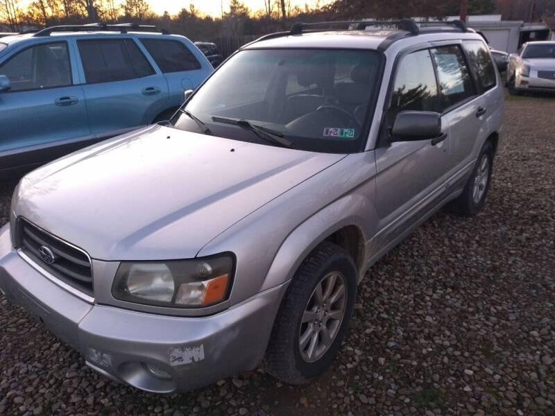 2005 Subaru Forester for sale at Seneca Motors, Inc. (Seneca PA) in Seneca PA
