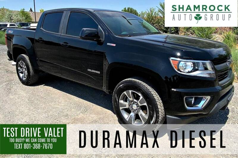 2017 Chevrolet Colorado for sale at Shamrock Group LLC #1 in Pleasant Grove UT