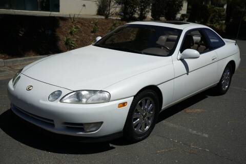 1992 Lexus SC 400 for sale at Sports Plus Motor Group LLC in Sunnyvale CA