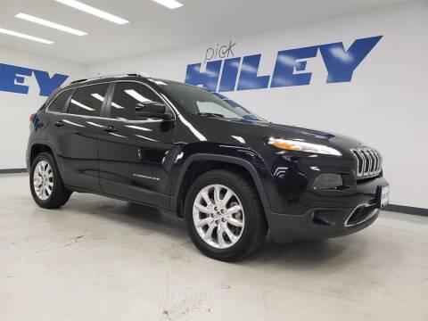 2016 Jeep Cherokee for sale at HILEY MAZDA VOLKSWAGEN of ARLINGTON in Arlington TX
