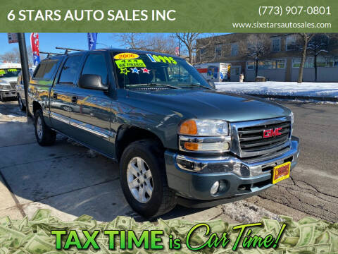 2006 GMC Sierra 1500 for sale at 6 STARS AUTO SALES INC in Chicago IL