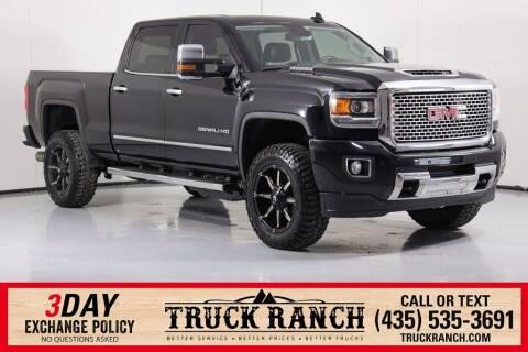 2017 GMC Sierra 2500HD for sale at Truck Ranch in Logan UT