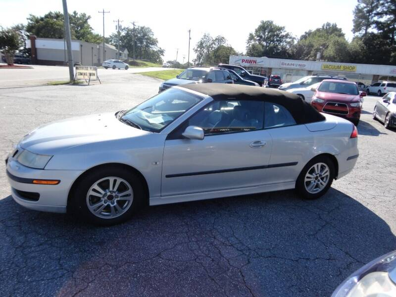 2006 Saab 9-3 for sale at HAPPY TRAILS AUTO SALES LLC in Taylors SC
