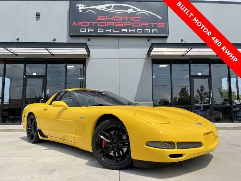 2003 Chevrolet Corvette for sale at Exotic Motorsports of Oklahoma in Edmond OK