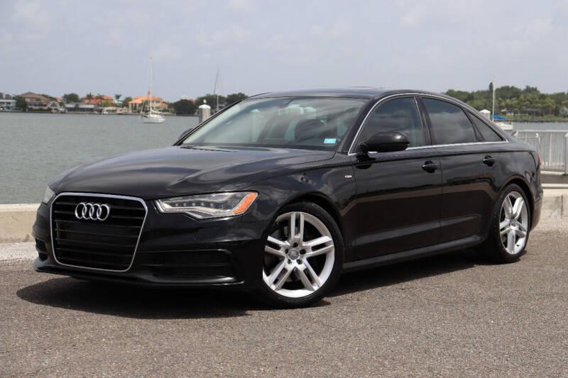 2014 Audi A6 for sale at Carpros Auto Sales in Largo FL