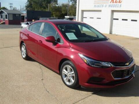 2017 Chevrolet Cruze for sale at PERL AUTO CENTER in Coffeyville KS