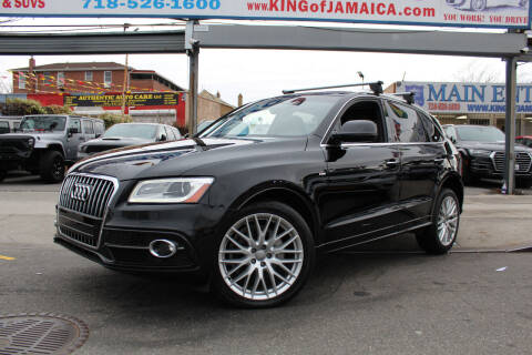 2017 Audi Q5 for sale at MIKEY AUTO INC in Hollis NY