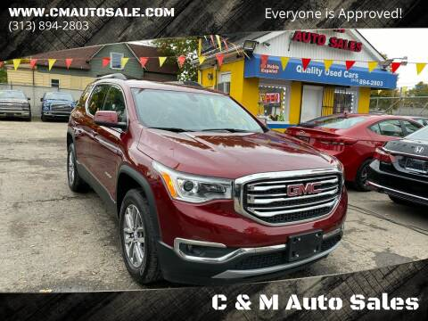 2018 GMC Acadia for sale at C & M Auto Sales in Detroit MI