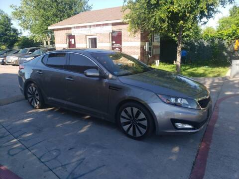 2012 Kia Optima for sale at El Jasho Motors in Grand Prairie TX