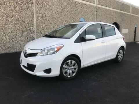 2014 Toyota Yaris for sale at Evolution Motors LLC in Dallas TX