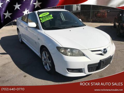 2008 Mazda MAZDA3 for sale at Rock Star Auto Sales in Las Vegas NV