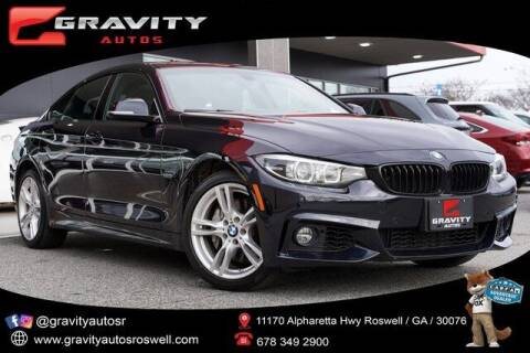 2019 BMW 4 Series for sale at Gravity Autos Roswell in Roswell GA