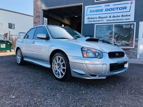 2005 Subaru Impreza for sale at The Subie Doctor in Denver CO