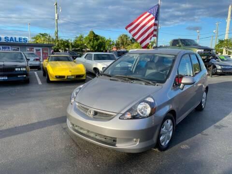 2008 Honda Fit for sale at KD's Auto Sales in Pompano Beach FL
