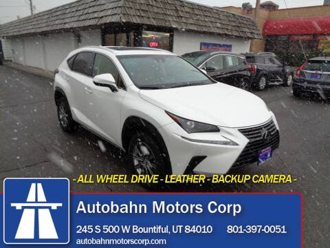 2018 Lexus NX 300 for sale at Autobahn Motors Corp in Bountiful UT