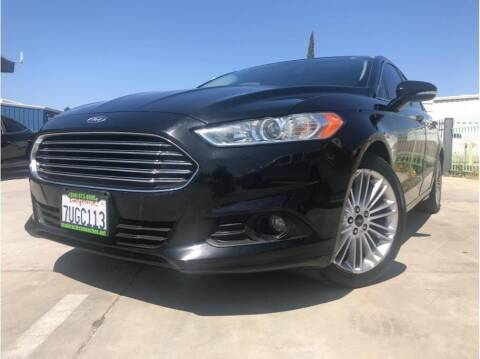 2016 Ford Fusion for sale at MADERA CAR CONNECTION in Madera CA