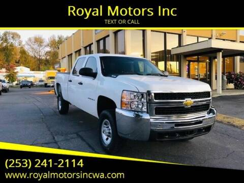 2009 Chevrolet Silverado 2500HD for sale at Royal Motors Inc in Kent WA