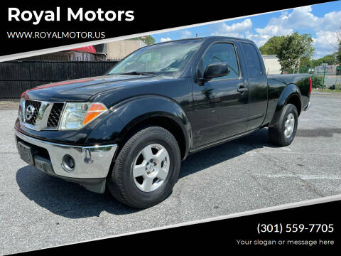 2008 Nissan Frontier for sale at Royal Motors in Hyattsville MD