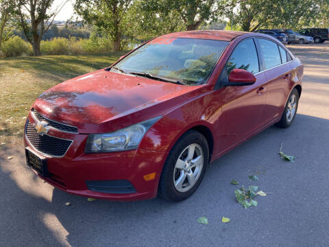 2011 Chevrolet Cruze for sale at BELOW BOOK AUTO SALES in Idaho Falls ID