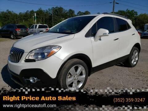 2015 Buick Encore for sale at Right Price Auto Sales-Gainesville in Gainesville FL