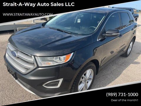 2015 Ford Edge for sale at Strait-A-Way Auto Sales LLC in Gaylord MI