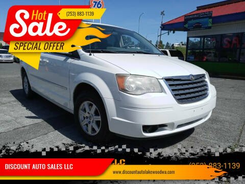 2010 Chrysler Town and Country for sale at DISCOUNT AUTO SALES LLC in Spanaway WA